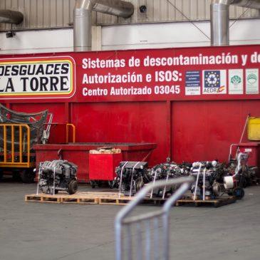 ¿Sabías que el  88% de los componentes de un vehículo se reutilizan?