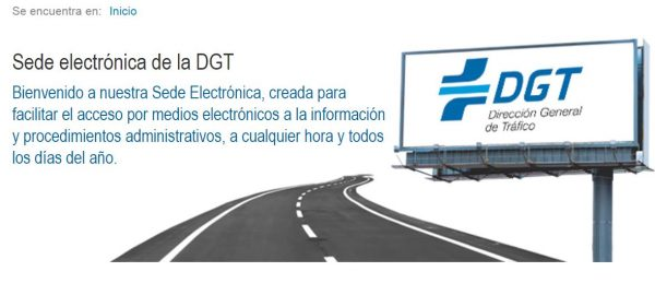 Guía para no perderse en la sede electrónica de la DGT